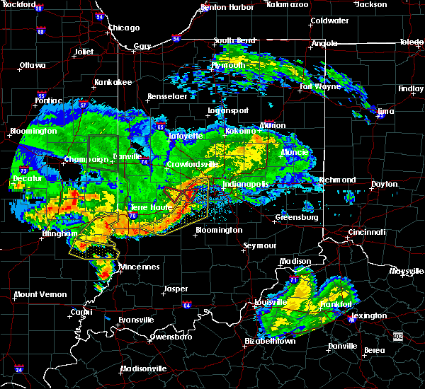 Radar Image for Severe Thunderstorms near Paragon, IN at 6/10/2018 5:15 PM EDT