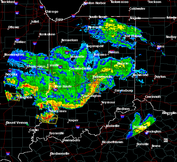 Radar Image for Severe Thunderstorms near Indianapolis, IN at 6/10/2018 5:52 PM EDT
