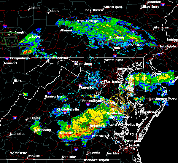 Radar Image for Severe Thunderstorms near St. Leonard, MD at 6/10/2018 7:15 PM EDT