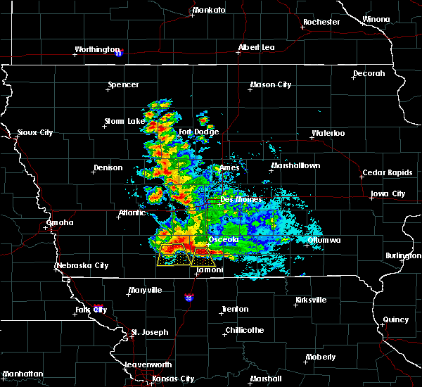 Radar Image for Severe Thunderstorms near Beaconsfield, IA at 6/11/2018 12:24 AM CDT