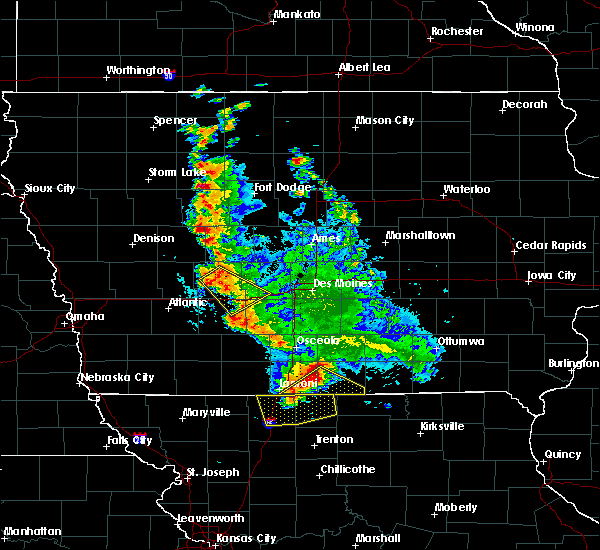 Radar Image for Severe Thunderstorms near Clio, IA at 6/11/2018 1:49 AM CDT
