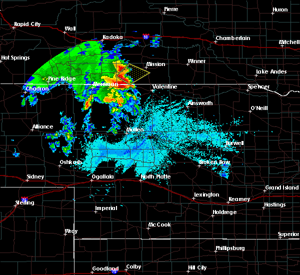 Radar Image for Severe Thunderstorms near St. Francis, SD at 6/11/2018 2:10 AM CDT