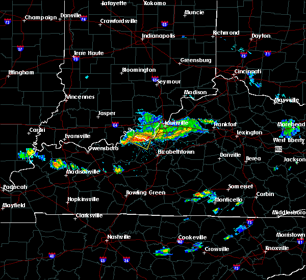 Radar Image for Severe Thunderstorms near Ekron, KY at 6/11/2018 2:44 PM EDT