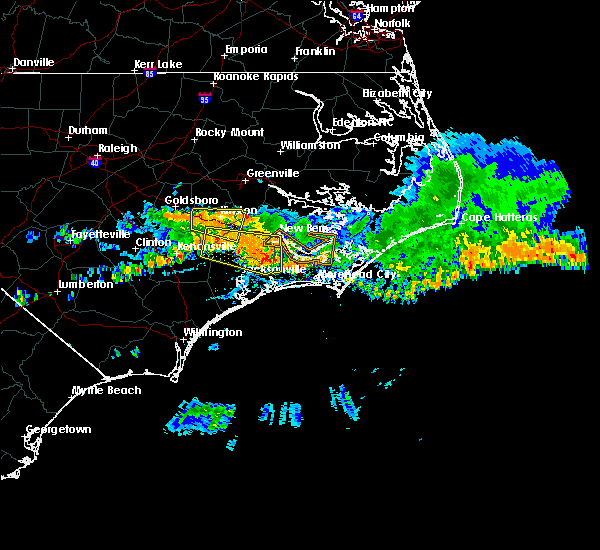 Radar Image for Severe Thunderstorms near Dover, NC at 6/11/2018 2:53 PM EDT