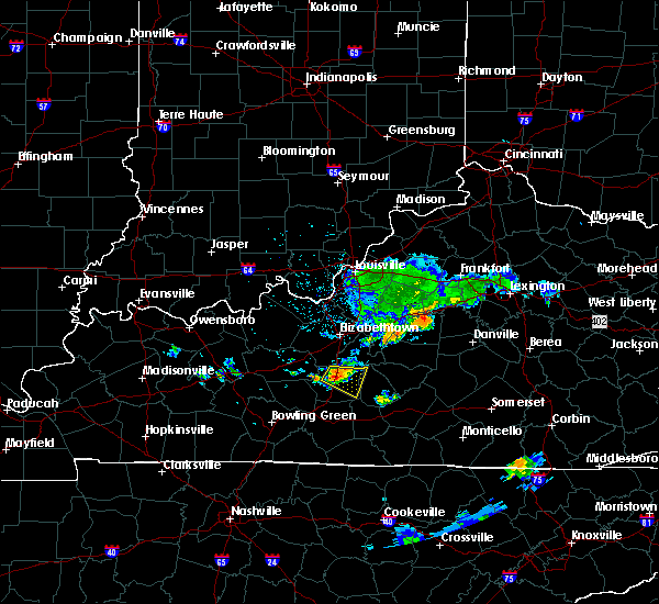 Radar Image for Severe Thunderstorms near Willisburg, KY at 6/11/2018 4:05 PM EDT