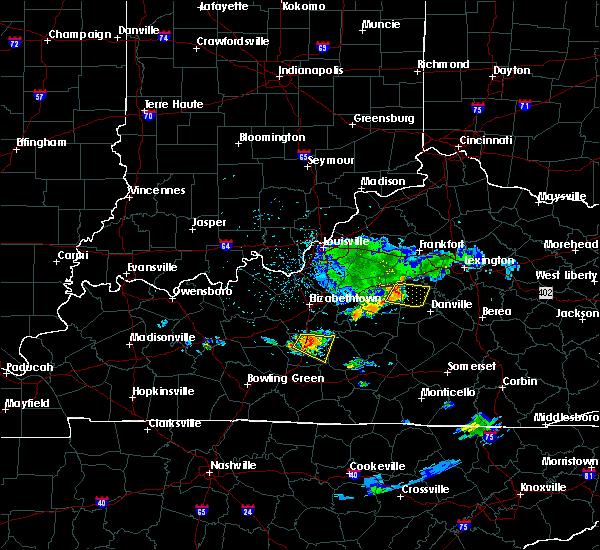 Radar Image for Severe Thunderstorms near Willisburg, KY at 6/11/2018 4:20 PM EDT