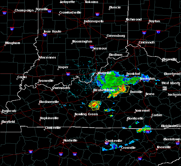 Radar Image for Severe Thunderstorms near Danville, KY at 6/11/2018 4:31 PM EDT