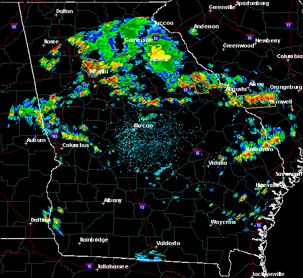 Radar Image for Severe Thunderstorms near Thomson, GA at 6/11/2018 4:48 PM EDT