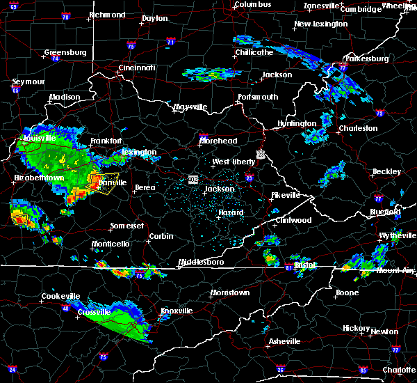 Radar Image for Severe Thunderstorms near Danville, KY at 6/11/2018 4:51 PM EDT