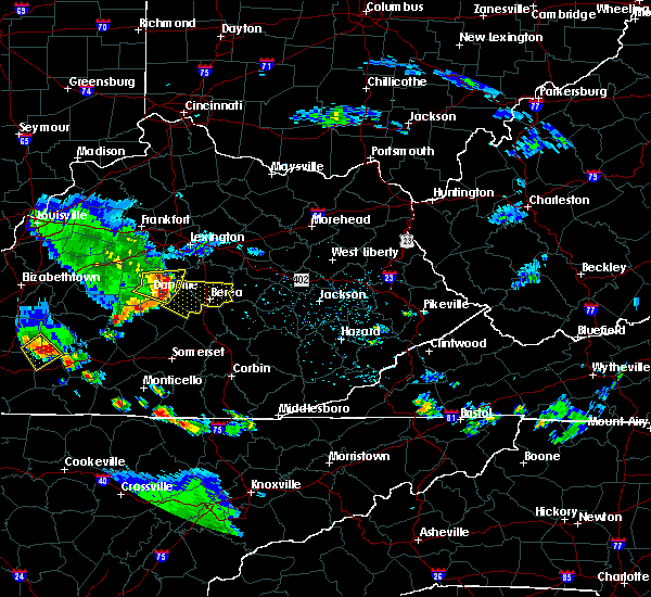 Radar Image for Severe Thunderstorms near Lancaster, KY at 6/11/2018 5:06 PM EDT