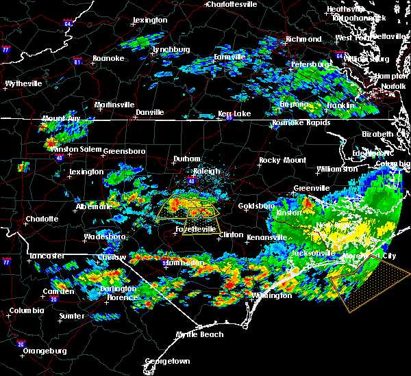Radar Image for Severe Thunderstorms near Mamers, NC at 6/11/2018 5:06 PM EDT