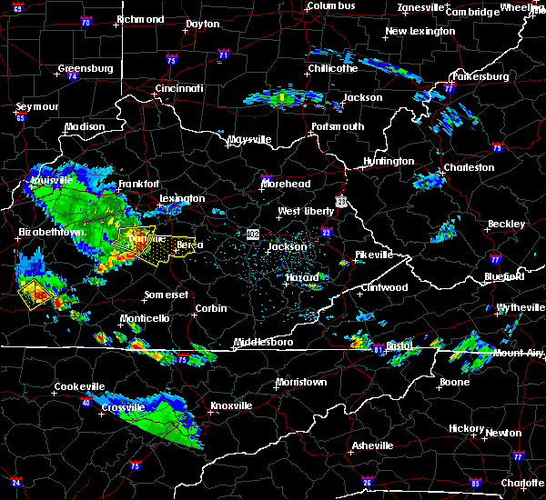 Radar Image for Severe Thunderstorms near Lancaster, KY at 6/11/2018 5:12 PM EDT