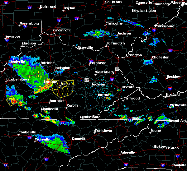 Radar Image for Severe Thunderstorms near McKee, KY at 6/11/2018 5:15 PM EDT