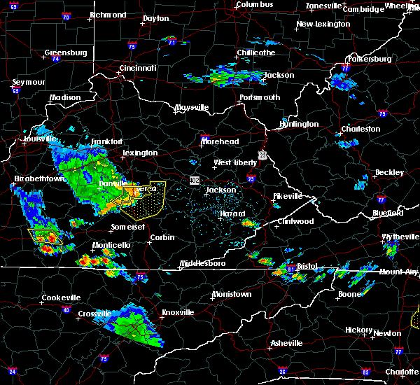 Radar Image for Severe Thunderstorms near Richmond, KY at 6/11/2018 5:40 PM EDT