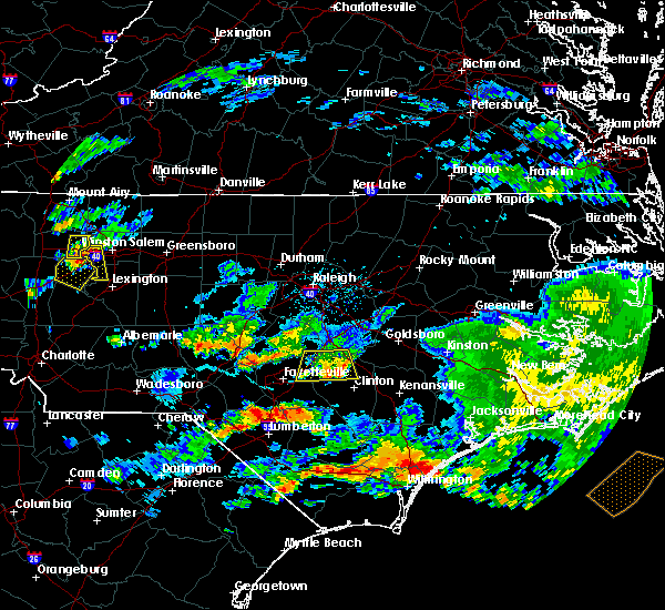 Radar Image for Severe Thunderstorms near Falcon, NC at 6/11/2018 5:43 PM EDT