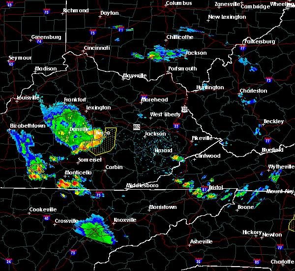 Radar Image for Severe Thunderstorms near McKee, KY at 6/11/2018 5:49 PM EDT