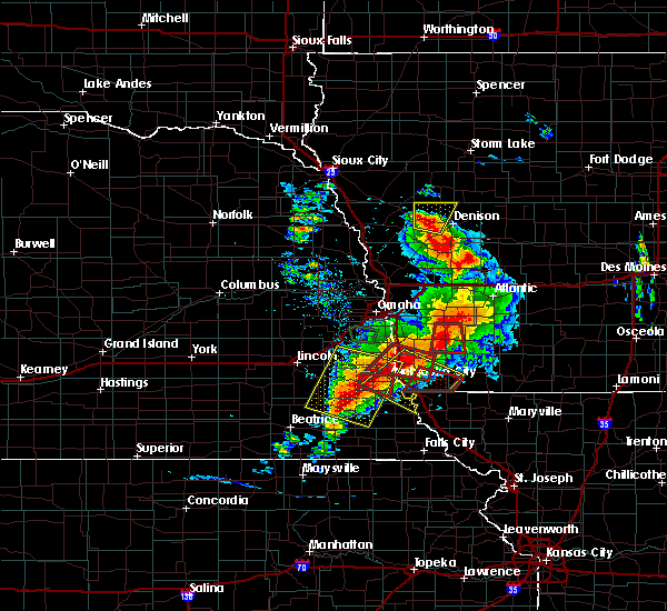 Radar Image for Severe Thunderstorms near Schleswig, IA at 6/11/2018 7:23 PM CDT