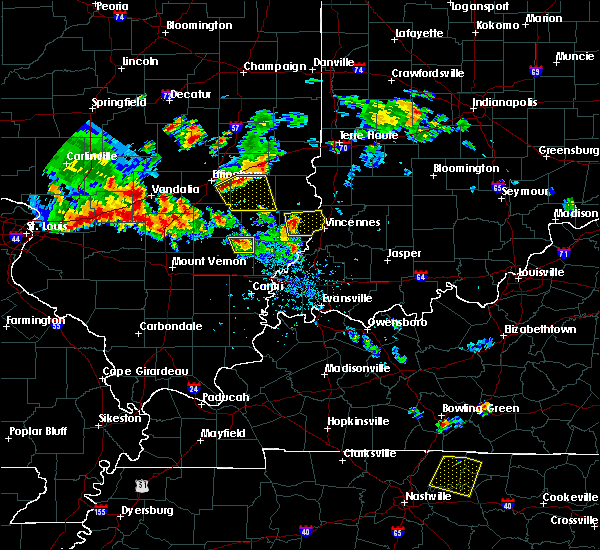 Radar Image for Severe Thunderstorms near Vincennes, IN at 6/11/2018 7:33 PM CDT
