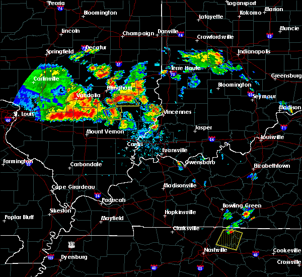 Radar Image for Severe Thunderstorms near Russellville, IL at 6/11/2018 7:57 PM CDT