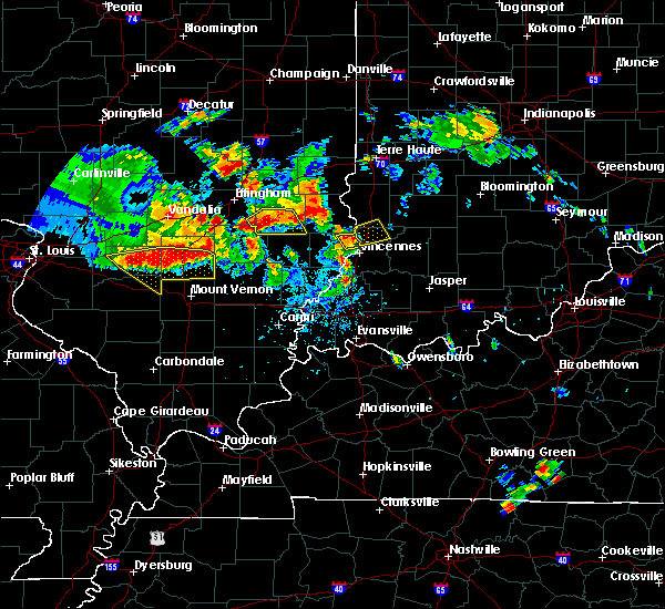 Radar Image for Severe Thunderstorms near Oaktown, IN at 6/11/2018 9:03 PM EDT