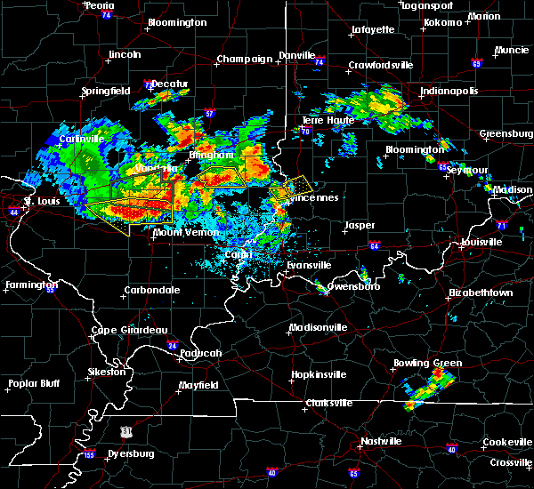 Radar Image for Severe Thunderstorms near Russellville, IL at 6/11/2018 9:16 PM EDT
