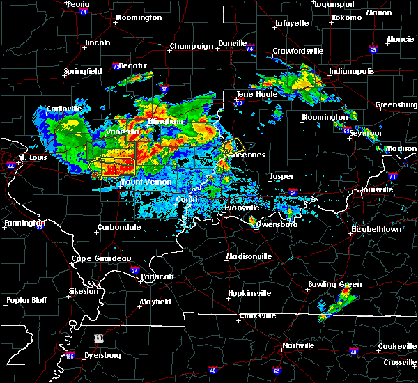 Radar Image for Severe Thunderstorms near Oaktown, IN at 6/11/2018 9:25 PM EDT