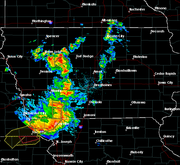 Radar Image for Severe Thunderstorms near Dana, IA at 6/11/2018 8:50 PM CDT