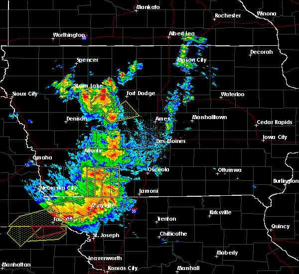 Radar Image for Severe Thunderstorms near Cromwell, IA at 6/11/2018 8:56 PM CDT