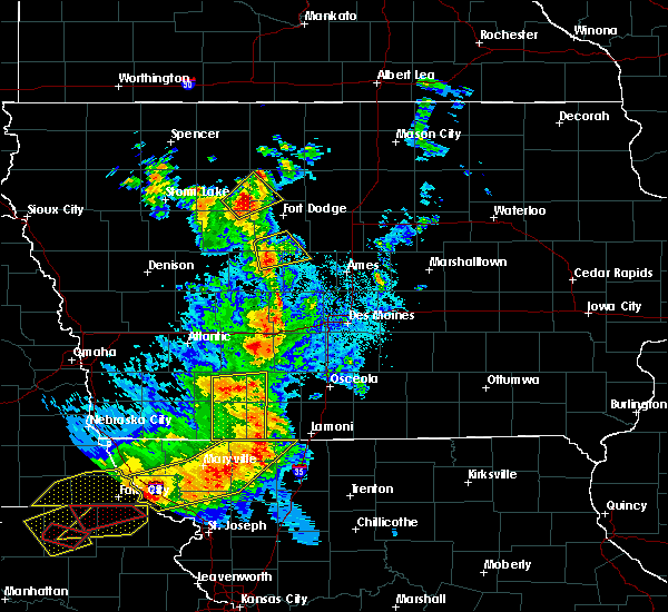 Radar Image for Severe Thunderstorms near Pilot Mound, IA at 6/11/2018 9:12 PM CDT