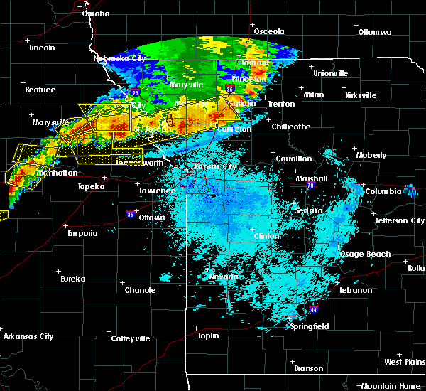 Radar Image for Severe Thunderstorms near Edgerton, MO at 6/11/2018 10:13 PM CDT
