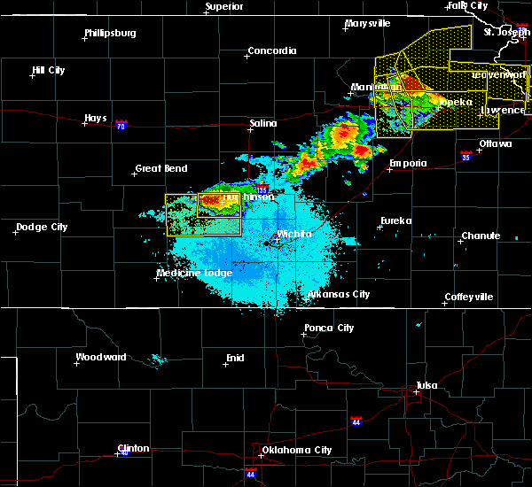 Hutchinson Ks Zip Code Map.Interactive Hail Maps Hail Map For Hutchinson Ks