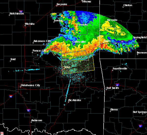 Radar Image for Severe Thunderstorms near Bushyhead, OK at 6/12/2018 4:51 AM CDT