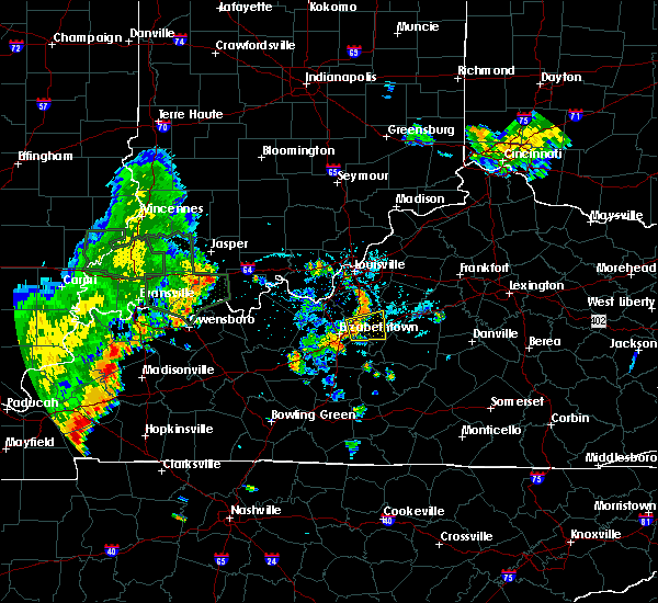 Radar Image for Severe Thunderstorms near Bardstown, KY at 6/12/2018 6:33 PM EDT