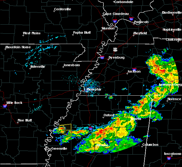 Radar Image for Severe Thunderstorms near Clarksdale, MS at 6/13/2018 9:25 AM CDT