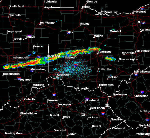 Radar Image for Severe Thunderstorms near Springfield, OH at 6/13/2018 4:01 PM EDT