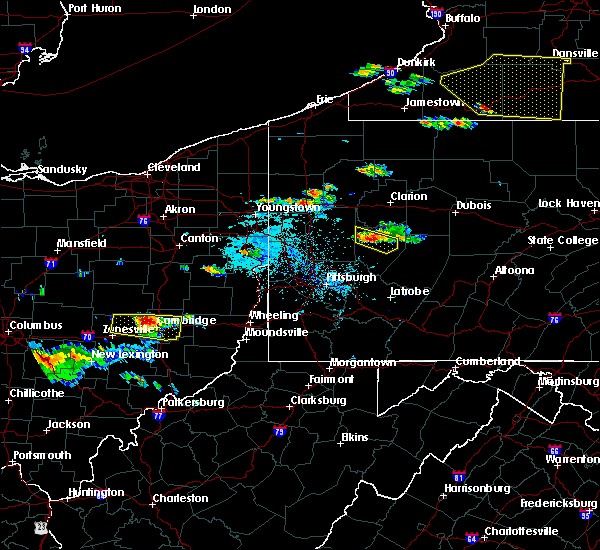 Radar Image for Severe Thunderstorms near Kittanning, PA at 6/13/2018 6:05 PM EDT