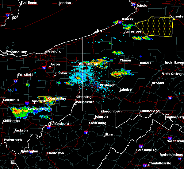Radar Image for Severe Thunderstorms near Kittanning, PA at 6/13/2018 6:11 PM EDT