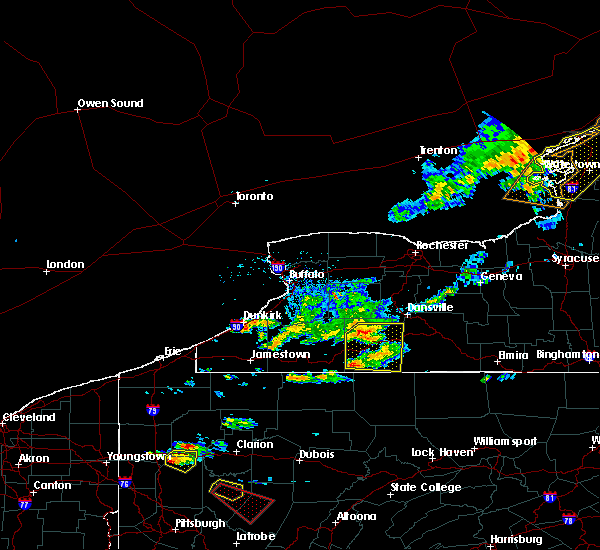 Radar Image for Severe Thunderstorms near Scio, NY at 6/13/2018 6:24 PM EDT
