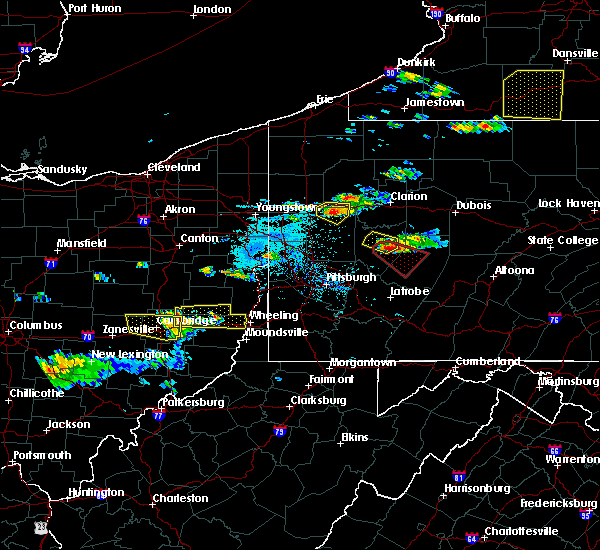 Radar Image for Severe Thunderstorms near Atwood, PA at 6/13/2018 6:27 PM EDT