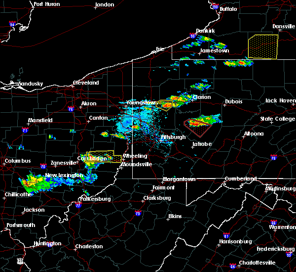 Radar Image for Severe Thunderstorms near Lafferty, OH at 6/13/2018 6:33 PM EDT