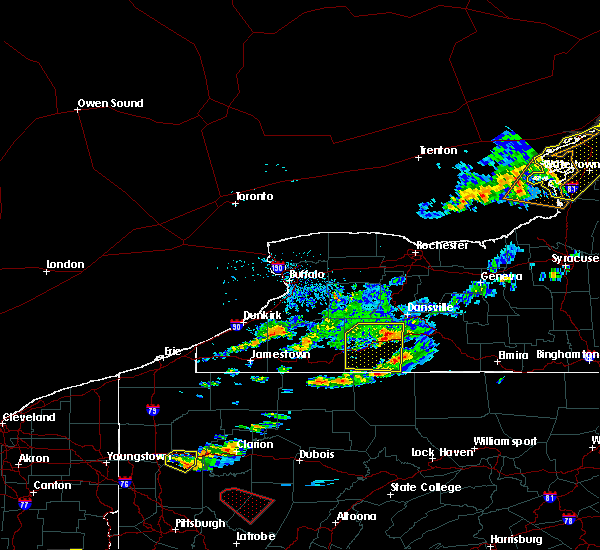 Radar Image for Severe Thunderstorms near Arkport, NY at 6/13/2018 6:40 PM EDT