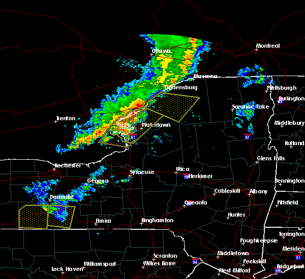 Radar Image for Severe Thunderstorms near Oxbow, NY at 6/13/2018 6:43 PM EDT