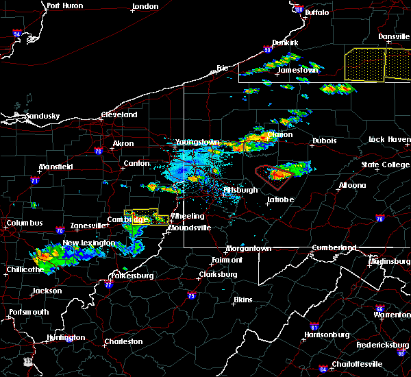 Radar Image for Severe Thunderstorms near Atwood, PA at 6/13/2018 6:42 PM EDT