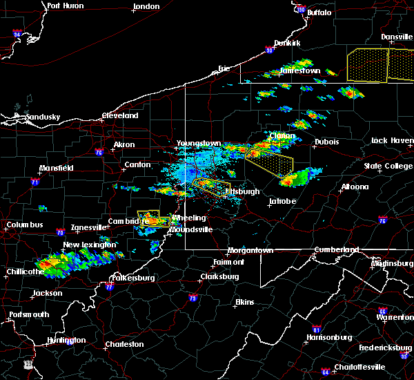 Radar Image for Severe Thunderstorms near Lafferty, OH at 6/13/2018 6:55 PM EDT