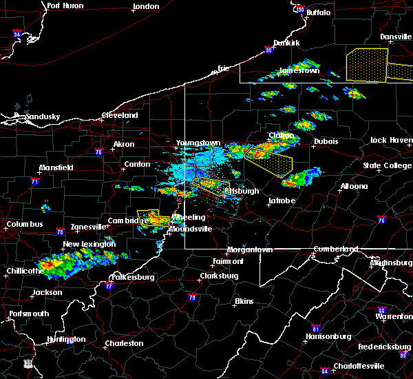 Radar Image for Severe Thunderstorms near Atwood, PA at 6/13/2018 6:59 PM EDT