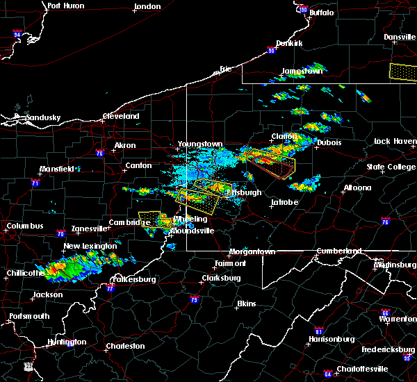 Radar Image for Severe Thunderstorms near Atwood, PA at 6/13/2018 7:11 PM EDT