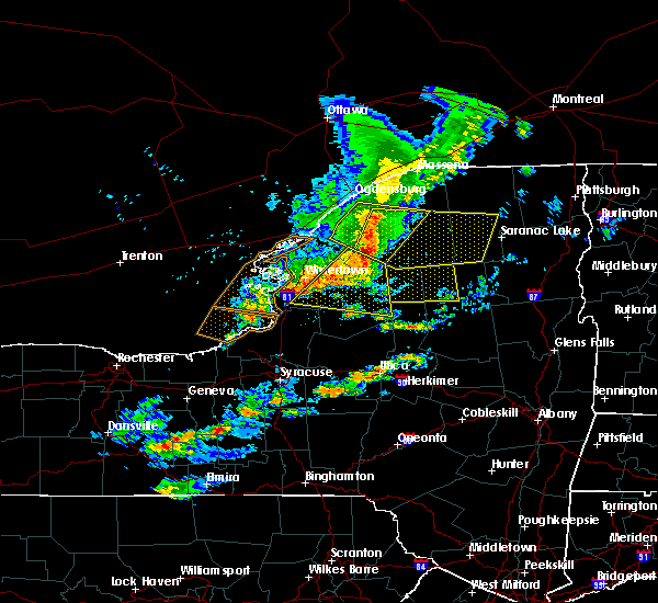 Radar Image for Severe Thunderstorms near Canton, NY at 6/13/2018 7:23 PM EDT