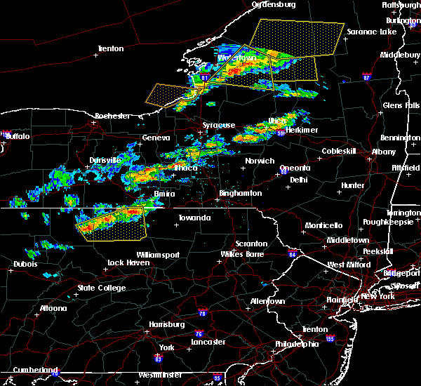 Radar Image for Severe Thunderstorms near Roseville, PA at 6/13/2018 7:35 PM EDT