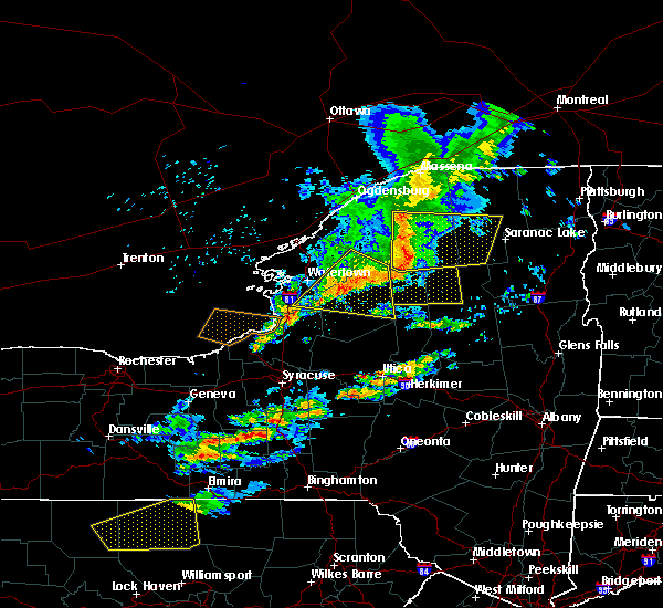 Radar Image for Severe Thunderstorms near Paul Smiths, NY at 6/13/2018 7:38 PM EDT