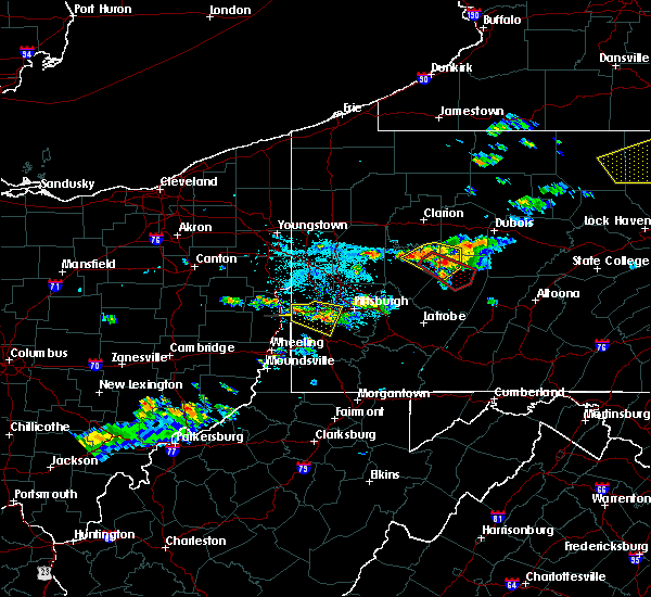 Radar Image for Severe Thunderstorms near Atwood, PA at 6/13/2018 7:38 PM EDT